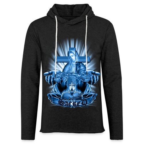 Sacred by RollinLow - Unisex Lightweight Terry Hoodie