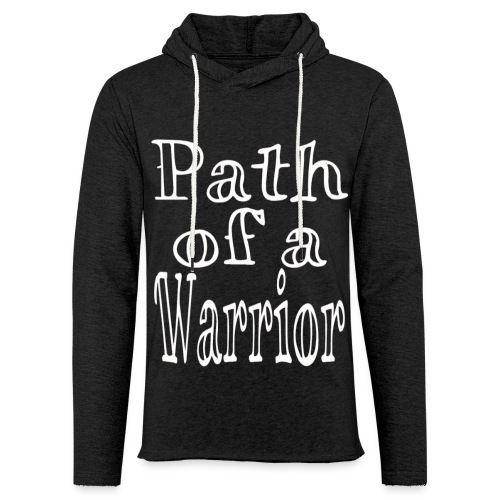 Path of a Warrior - Unisex Lightweight Terry Hoodie