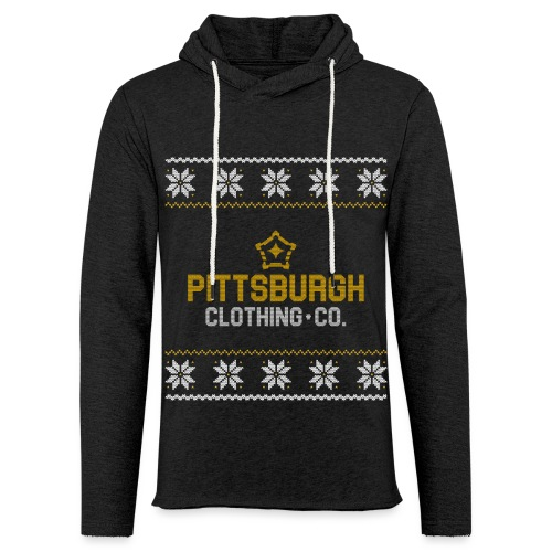 pghcco wordmark sweater - Unisex Lightweight Terry Hoodie