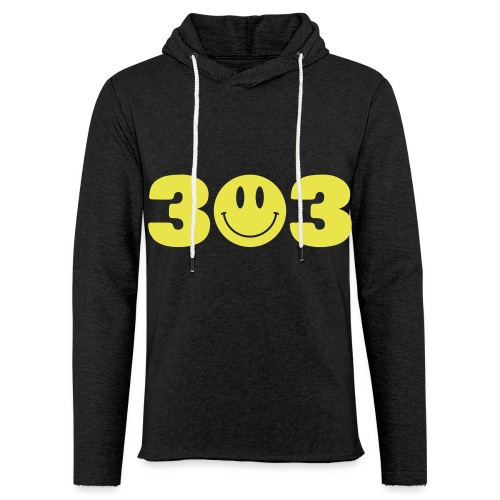 3 Smiley 3 - Unisex Lightweight Terry Hoodie