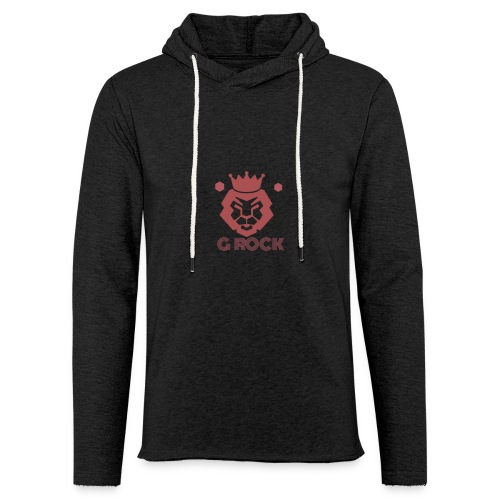 lion faced - Unisex Lightweight Terry Hoodie