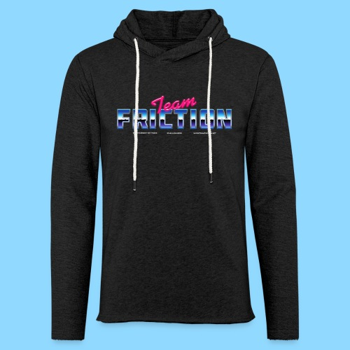 80s Team Friction - Unisex Lightweight Terry Hoodie