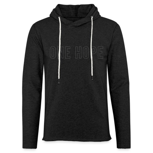ONE HOPE - Unisex Lightweight Terry Hoodie