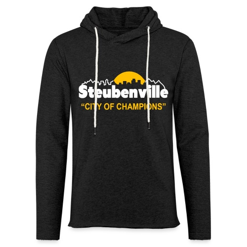 Steubenville - City of Champions - Unisex Lightweight Terry Hoodie