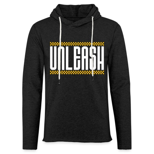 UNLEASH - Unisex Lightweight Terry Hoodie