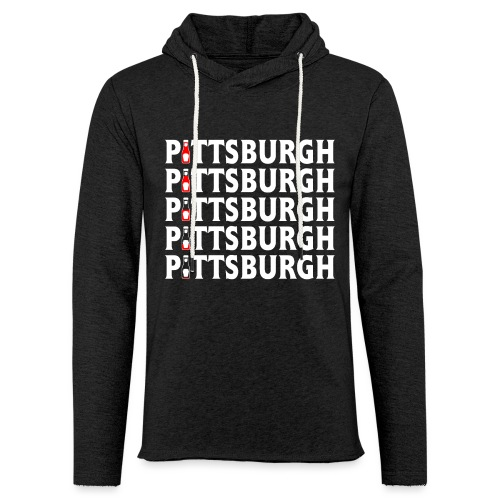 Ketch Up in PGH - Unisex Lightweight Terry Hoodie