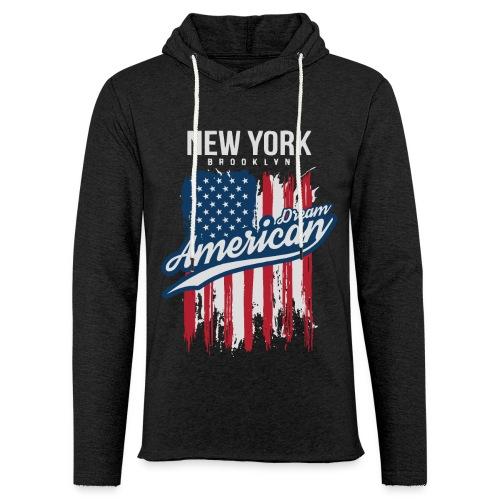 nyc new york brooklyn - Unisex Lightweight Terry Hoodie