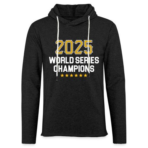 2025 World Series Champions - Unisex Lightweight Terry Hoodie