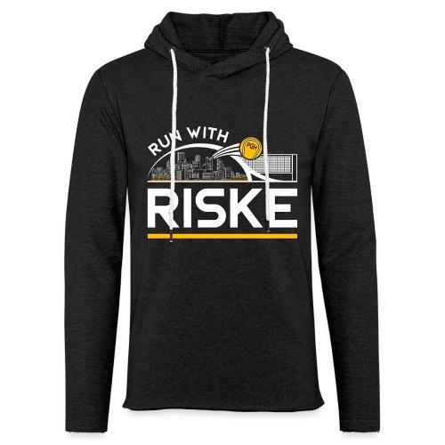 Run With Riske - Unisex Lightweight Terry Hoodie