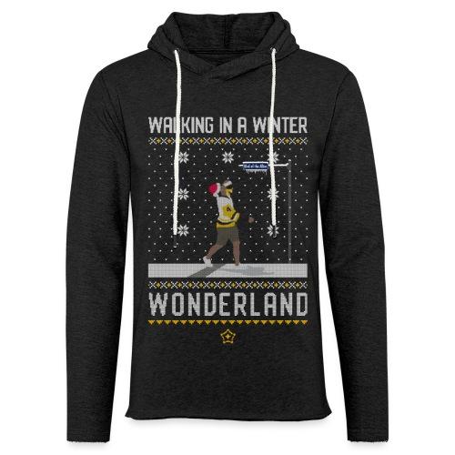 2018_Walking Winter Wonde - Unisex Lightweight Terry Hoodie