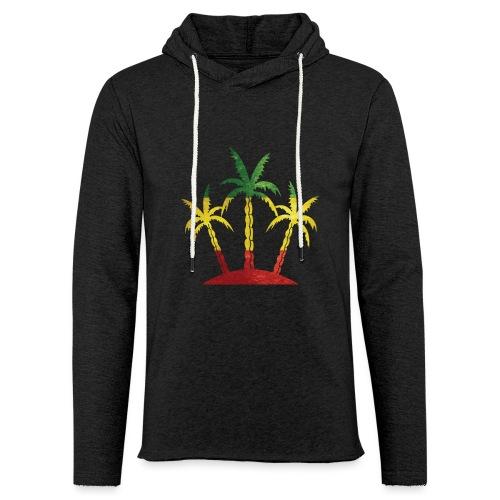 Palm Tree Reggae - Unisex Lightweight Terry Hoodie