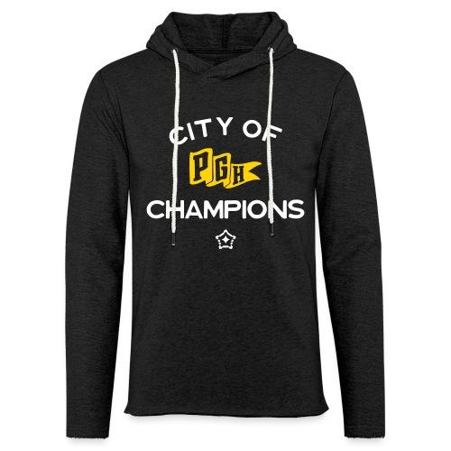 City of Champions - Unisex Lightweight Terry Hoodie