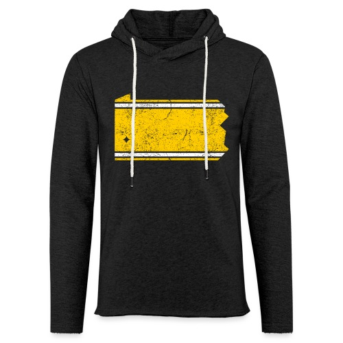 PA Stripes - Unisex Lightweight Terry Hoodie