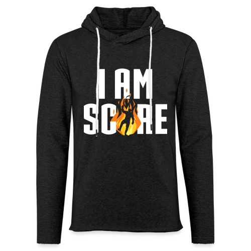 I am Fire. I am Score. - Unisex Lightweight Terry Hoodie