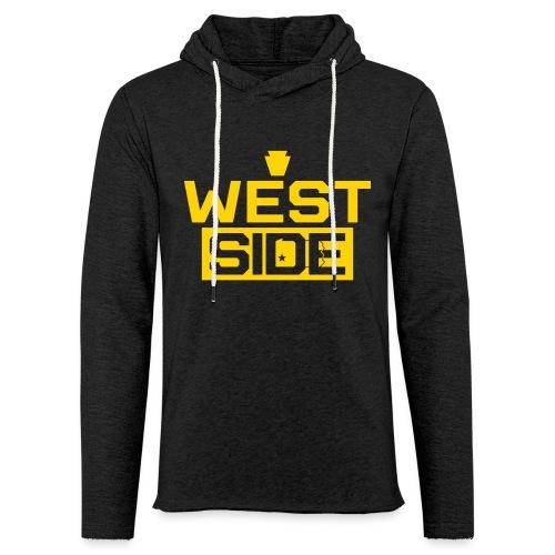 West Side - Unisex Lightweight Terry Hoodie