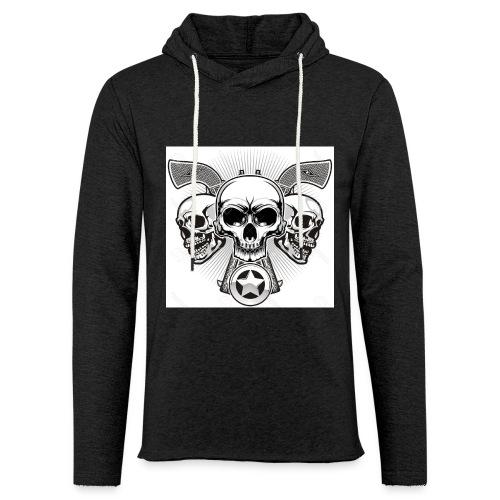 Skulls - Unisex Lightweight Terry Hoodie