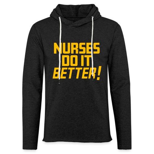 Nurses do it Better - Unisex Lightweight Terry Hoodie