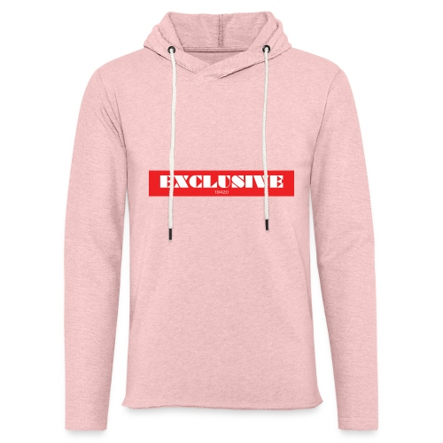 exclusive - Unisex Lightweight Terry Hoodie