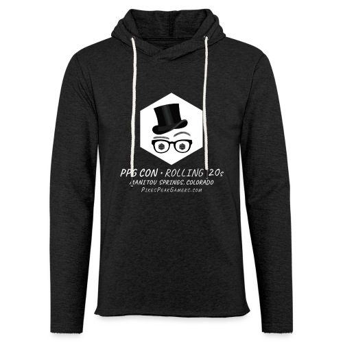 Pikes Peak Gamers Convention 2020 - Unisex Lightweight Terry Hoodie