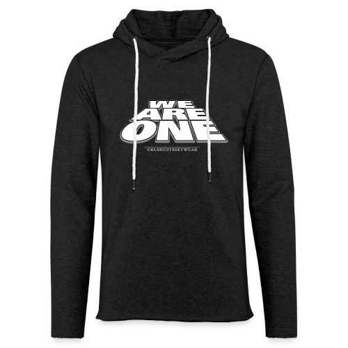 We are One 2 - Unisex Lightweight Terry Hoodie