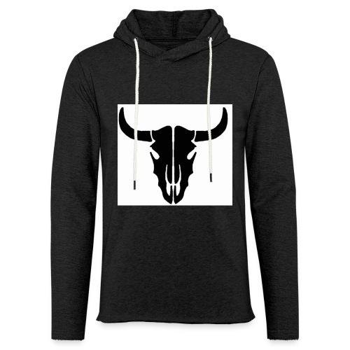 Longhorn skull - Unisex Lightweight Terry Hoodie