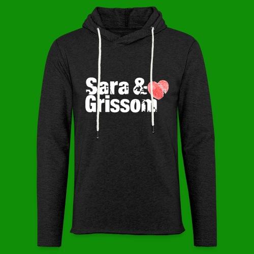 SARA & GRISSOM - Unisex Lightweight Terry Hoodie