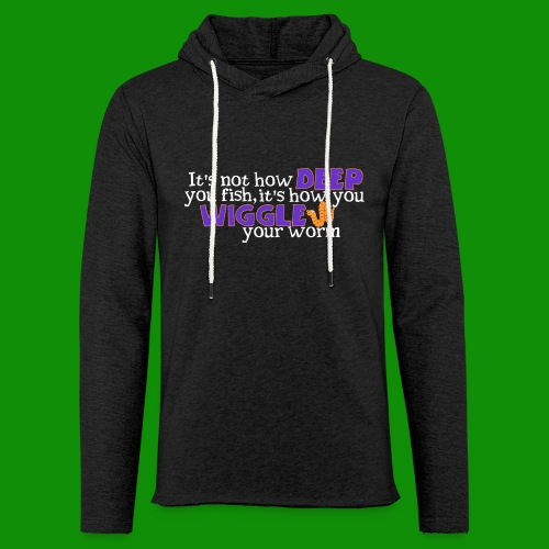 Wiggle your worm - Unisex Lightweight Terry Hoodie
