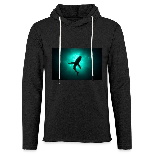 Shark in the abbis - Unisex Lightweight Terry Hoodie