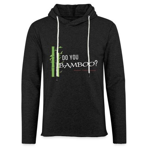 Do you Bamboo? - Unisex Lightweight Terry Hoodie