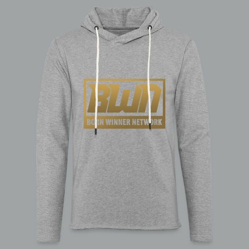 BWN (Gold) - Unisex Lightweight Terry Hoodie