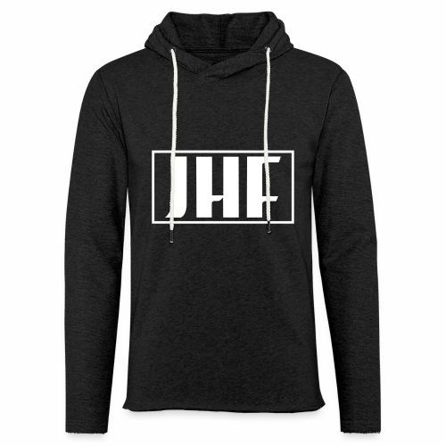 JHF logo 2 - Unisex Lightweight Terry Hoodie