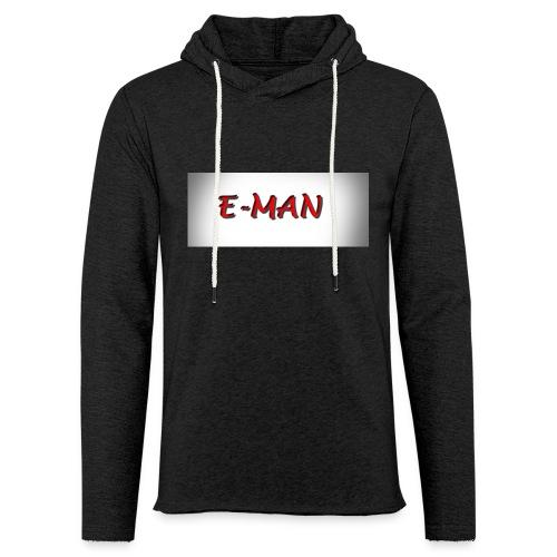 E-MAN - Unisex Lightweight Terry Hoodie