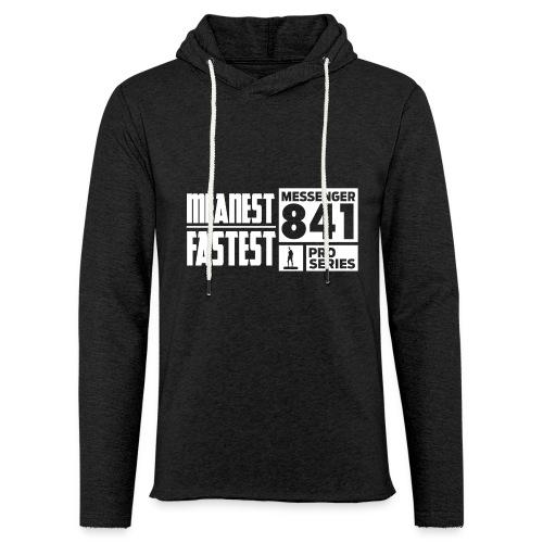 Messenger 841 Meanest and Fastest Crew Sweatshirt - Unisex Lightweight Terry Hoodie