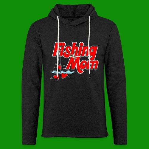 Fishing Mom - Unisex Lightweight Terry Hoodie