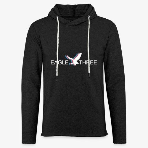 EAGLE THREE APPAREL - Unisex Lightweight Terry Hoodie