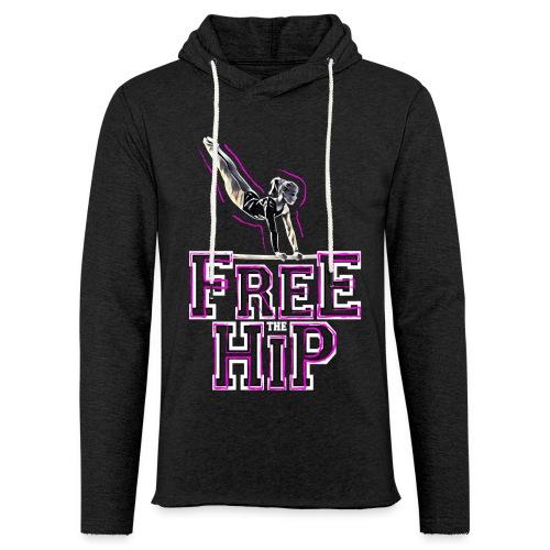 Free The Hip - Unisex Lightweight Terry Hoodie