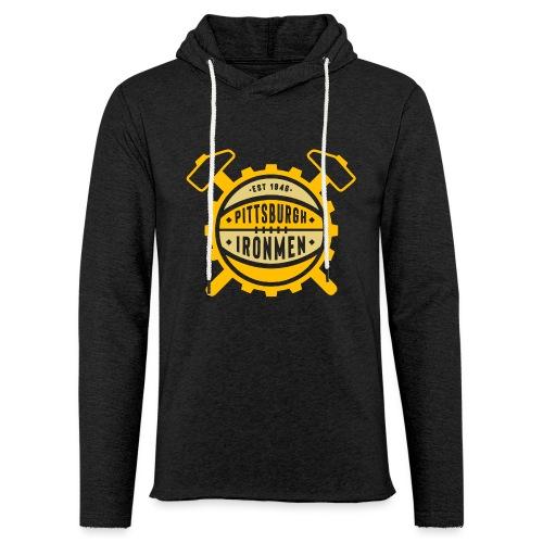 Pittsburgh Ironmen - Unisex Lightweight Terry Hoodie