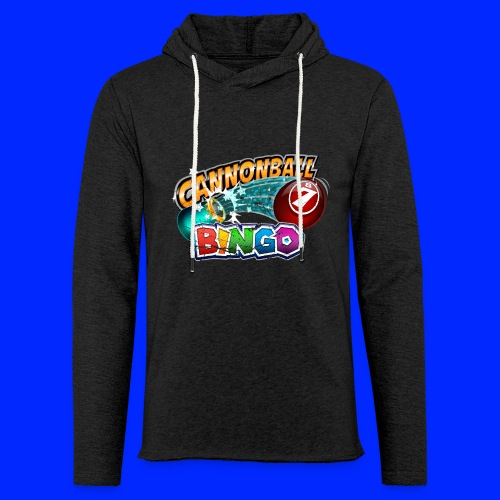 Vintage Cannonball Bingo Logo - Unisex Lightweight Terry Hoodie