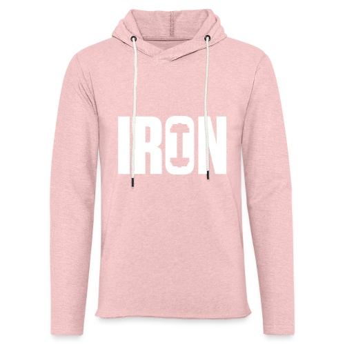 IRON WEIGHTS - Unisex Lightweight Terry Hoodie