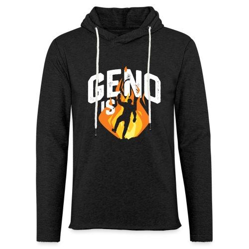 Geno is Fire - Unisex Lightweight Terry Hoodie