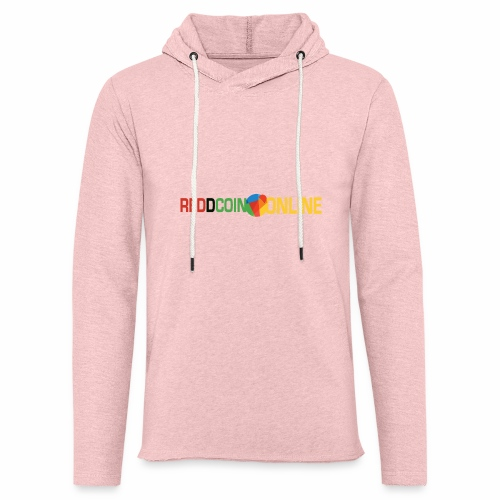 Reddcoin online logo the social currency - Unisex Lightweight Terry Hoodie
