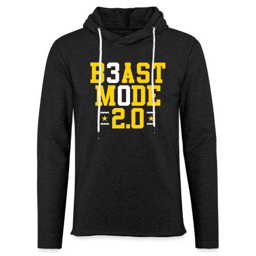 B3ast M0de 2.0 - Unisex Lightweight Terry Hoodie