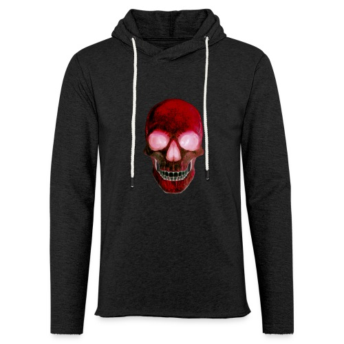 Red Skull - Unisex Lightweight Terry Hoodie
