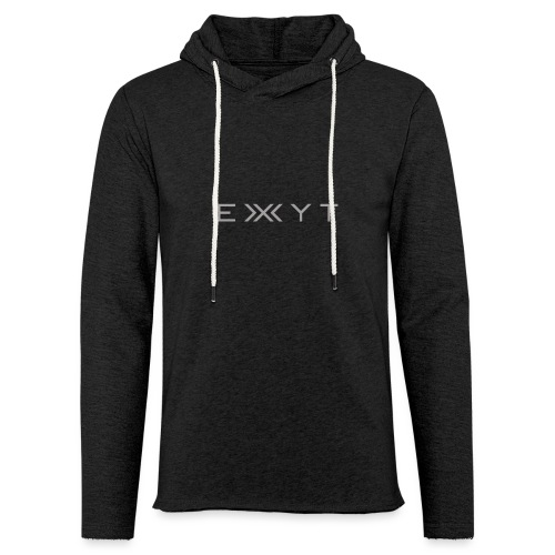 E X Y T - Unisex Lightweight Terry Hoodie