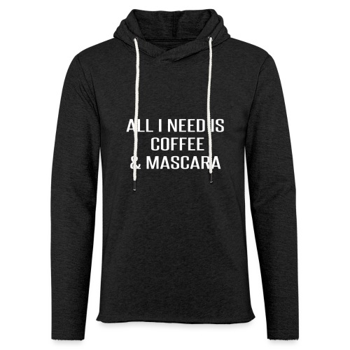 Coffee and Mascara - Unisex Lightweight Terry Hoodie