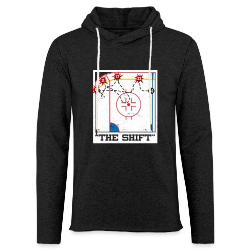 The Shift - Unisex Lightweight Terry Hoodie