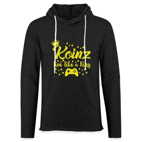 Live Like A King - Unisex Lightweight Terry Hoodie