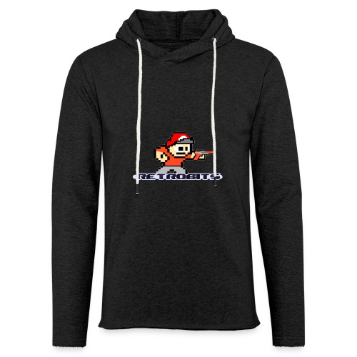 RetroBits Clothing - Unisex Lightweight Terry Hoodie