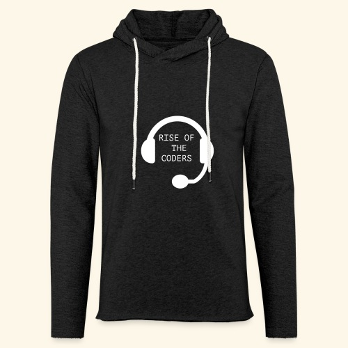 Rise of the Coders - Unisex Lightweight Terry Hoodie