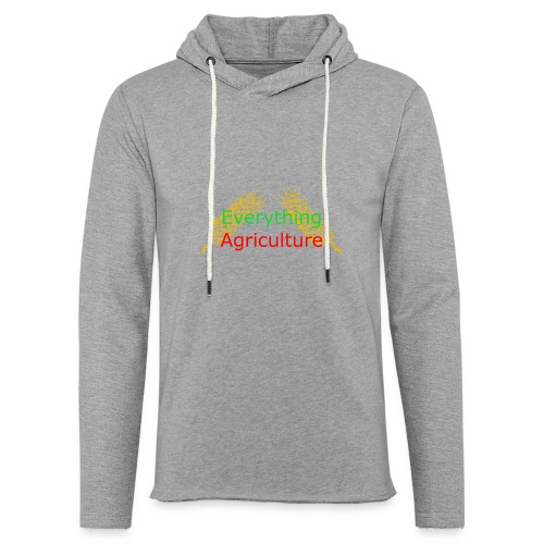 Everything Agriculture LOGO - Unisex Lightweight Terry Hoodie
